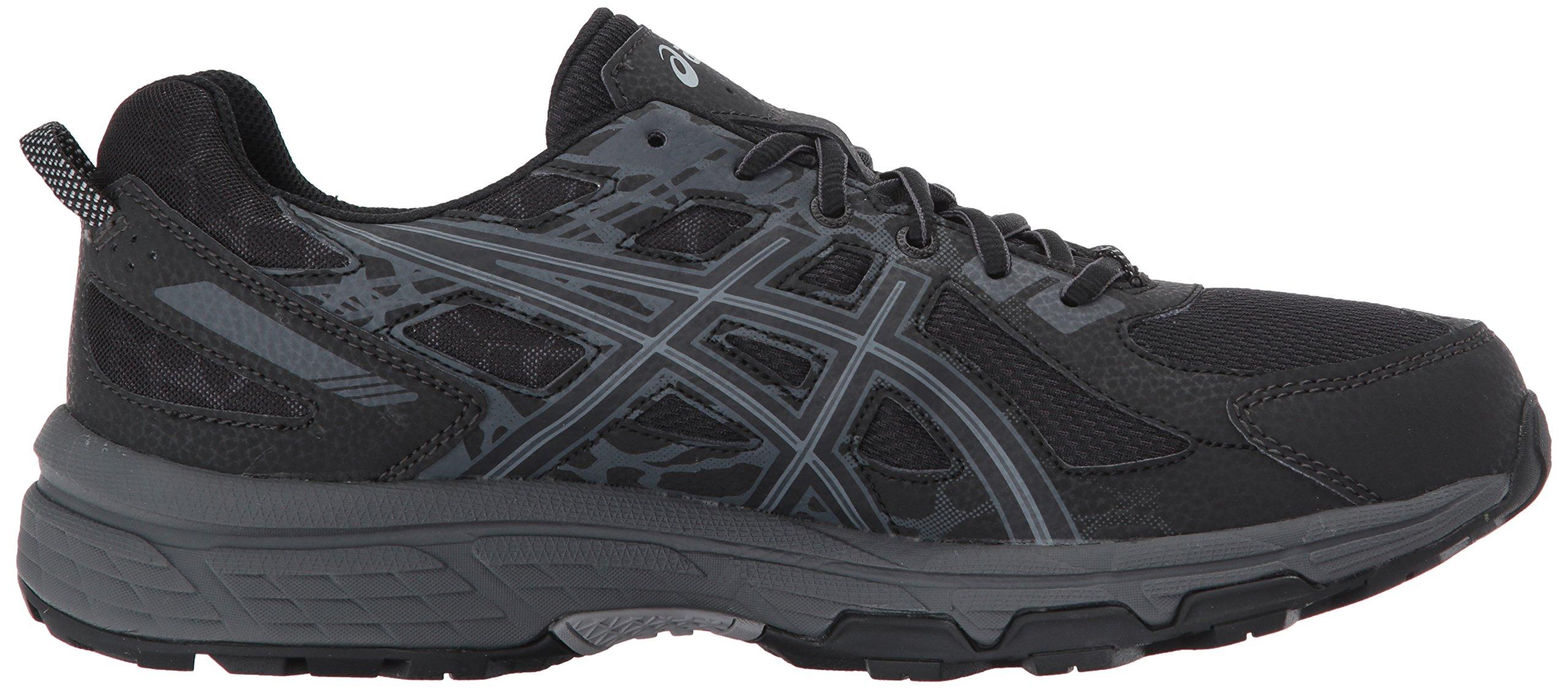 ASICS Mens Gel-Venture 6 Running Shoe, Black/Phantom/Mid Grey, 7 Medium US by ASICS (Image #7)