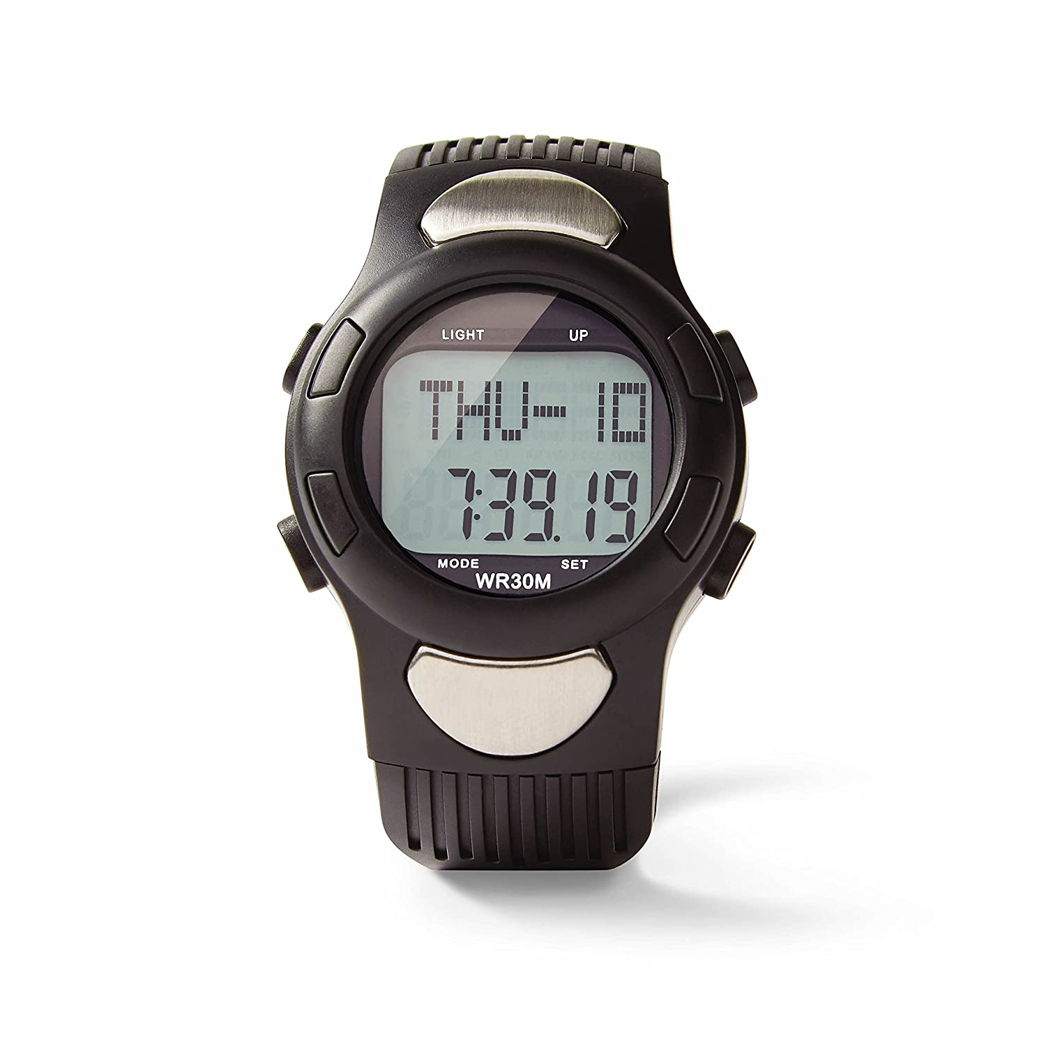 amazon com medline heart rate watch with pulse detection and rh amazon com Bowflex Heart Rate Watch Sportline Watch