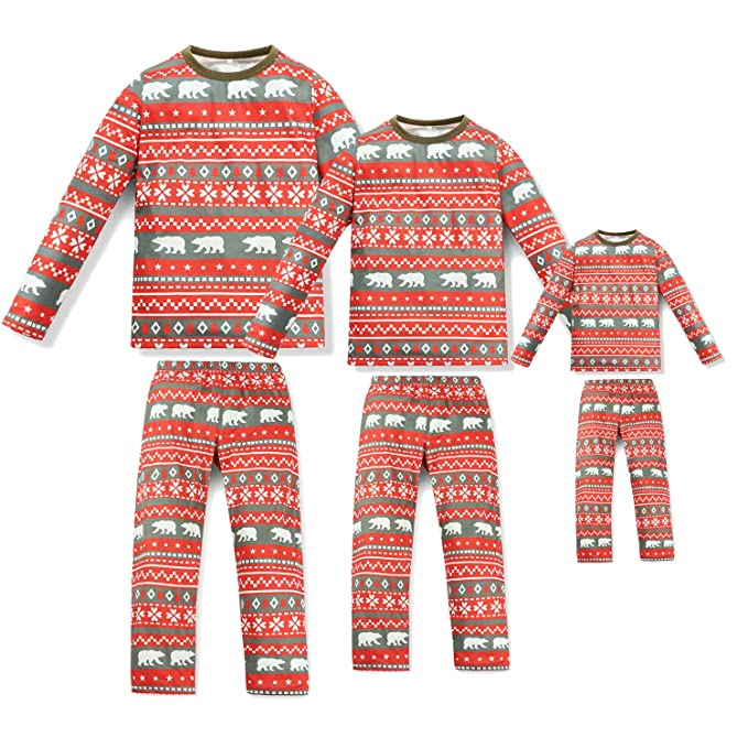 amazon com qunisy family matching christmas pajamas set pyjamas
