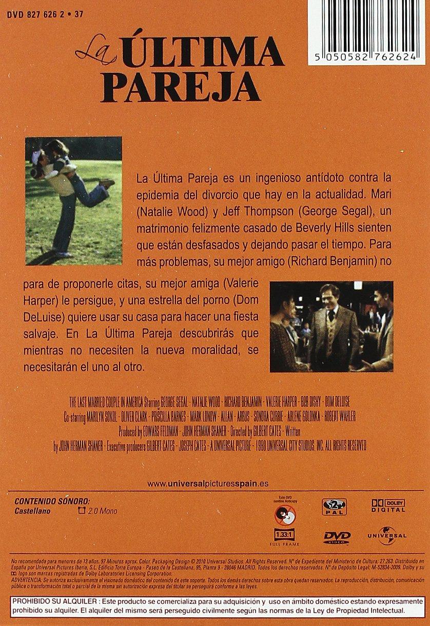 La ultima pareja [DVD]: Amazon.es: George Segal, Natalie Wood ...