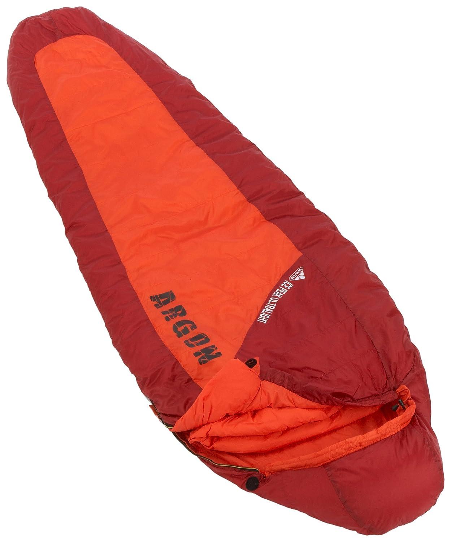 VAUDE Saco de dormir Ice Peak Ultra Light 220, naranja, 227, cremallera izquierda: Amazon.es: Deportes y aire libre
