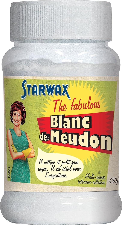 Starwax Blanc de Meudon 21003- Blanco de España de 480g