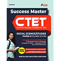 CTET Success Master Social Science/Studies Paper-2  for Class 6 to 8 2020