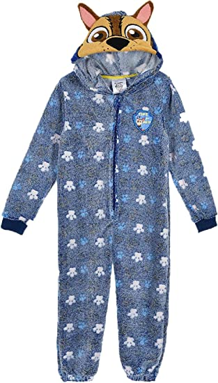 Paw Patrol Marshall Hooded One Piece Sleepsuit