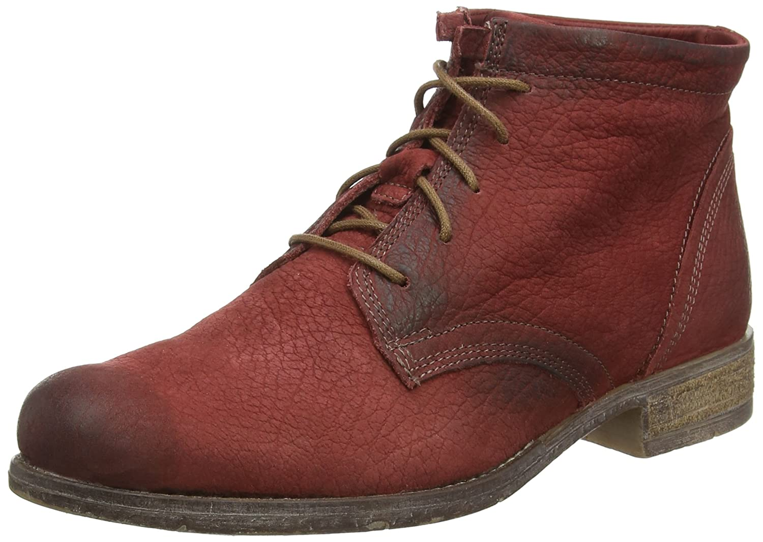 Josef Seibel Womens Sienna 03 Leather Boots B00VILEZGK 37 M EU|Red
