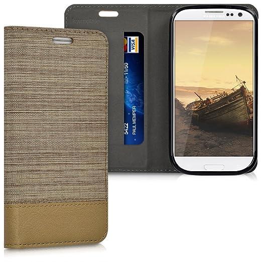 11 opinioni per kwmobile Cover Flip per Samsung Galaxy S3 / S3 Neo- Custodia a libro protettiva