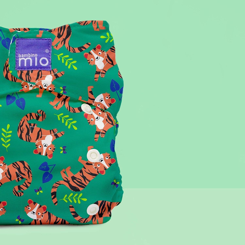 miosolo all-in-one stoffwindel tiger tango Bambino Mio mehrfarbig