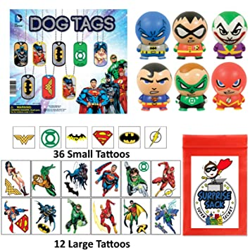 Party Bag Supplies Celebration & Occasion Supplies Batman Tattoos 24ct Party Favors Rewards School Supplies 4 sheets