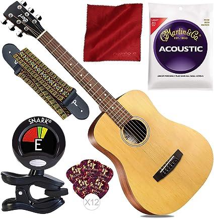 Cort Standard Series Guitarra acústica Dreadnought tamaño 3/4 con ...