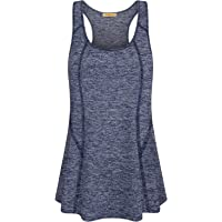cd86d5bfcac Baikea Women s Sleeveless Activewear Racerback Yoga Tank Tops Workout Tunic