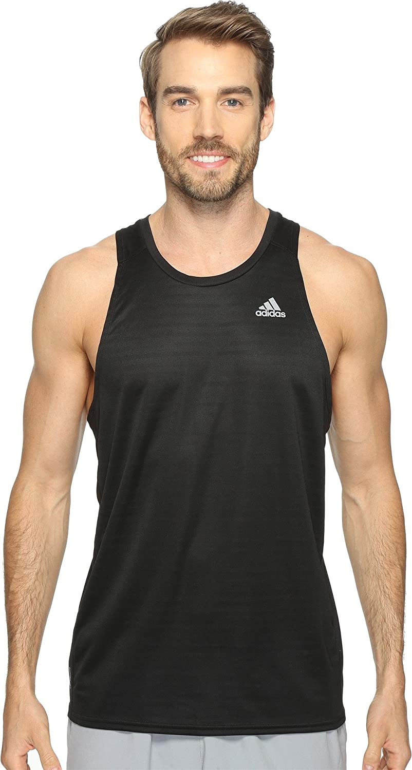 Adidas Pour Homme Running S # T Tank Top Blanc