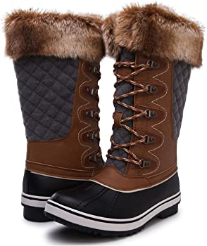 Kingshow Womens Globalwin Waterproof Winter Boots