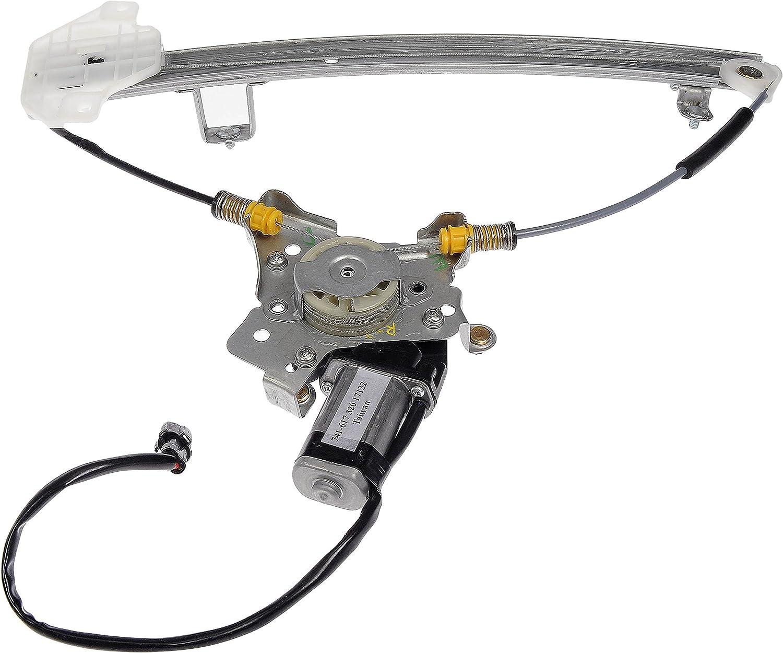 Dorman 741-268 Front Passenger Side Power Window Regulator and Motor Assembly for Select Hyundai Models