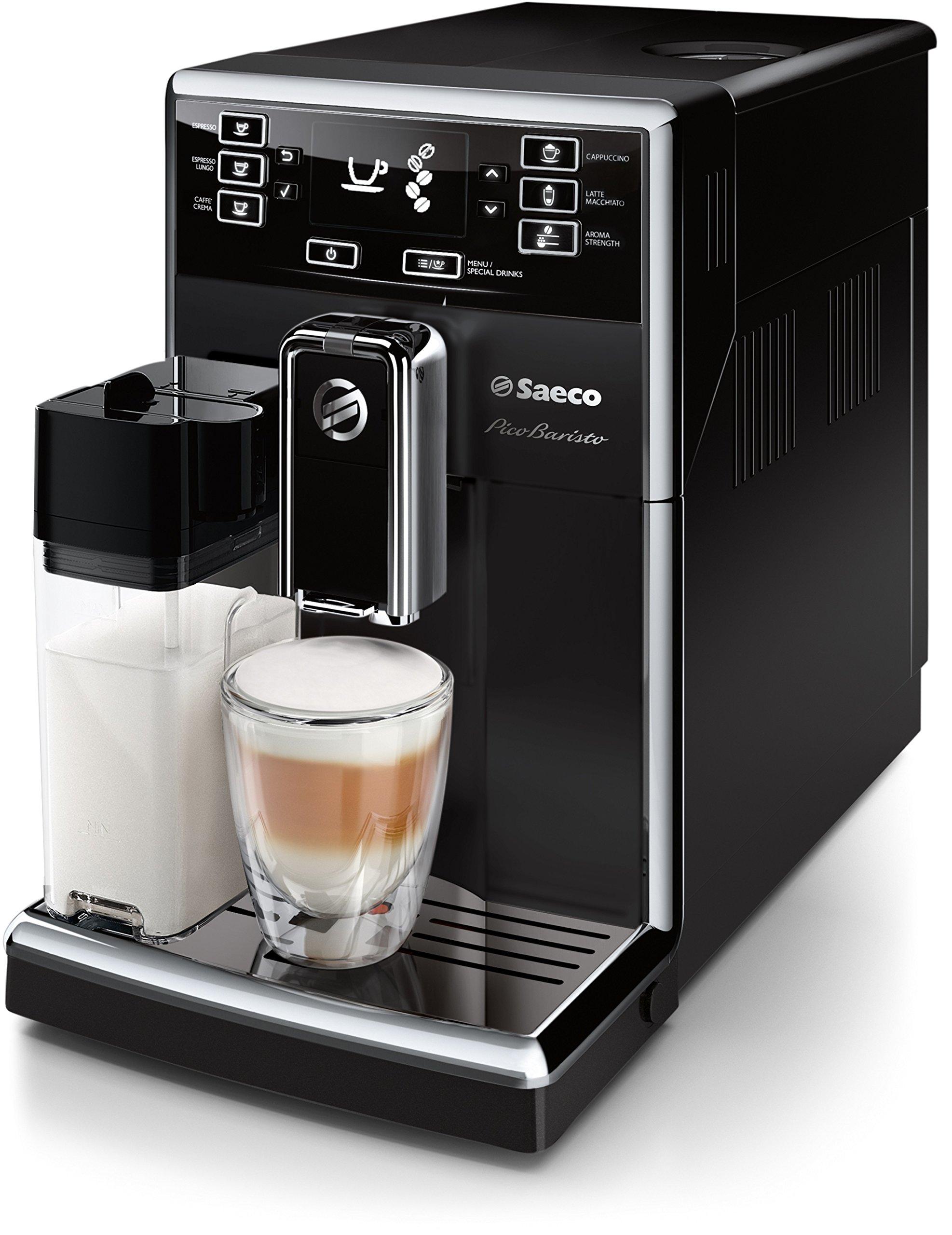 0da7c24dcb5a43 Saeco HD8925 01 PicoBaristo Machine à café automatique Noir product image