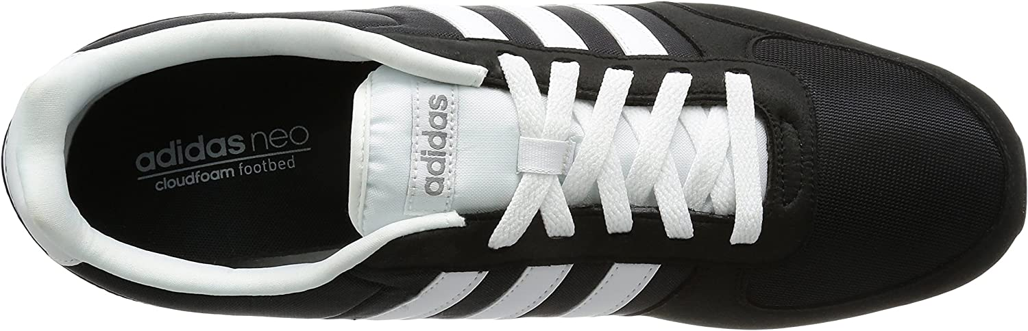 Plaga Primitivo Fondo verde  Amazon.com | adidas Neo City Racer Men's Running Shoes Black F99329 |  Fashion Sneakers