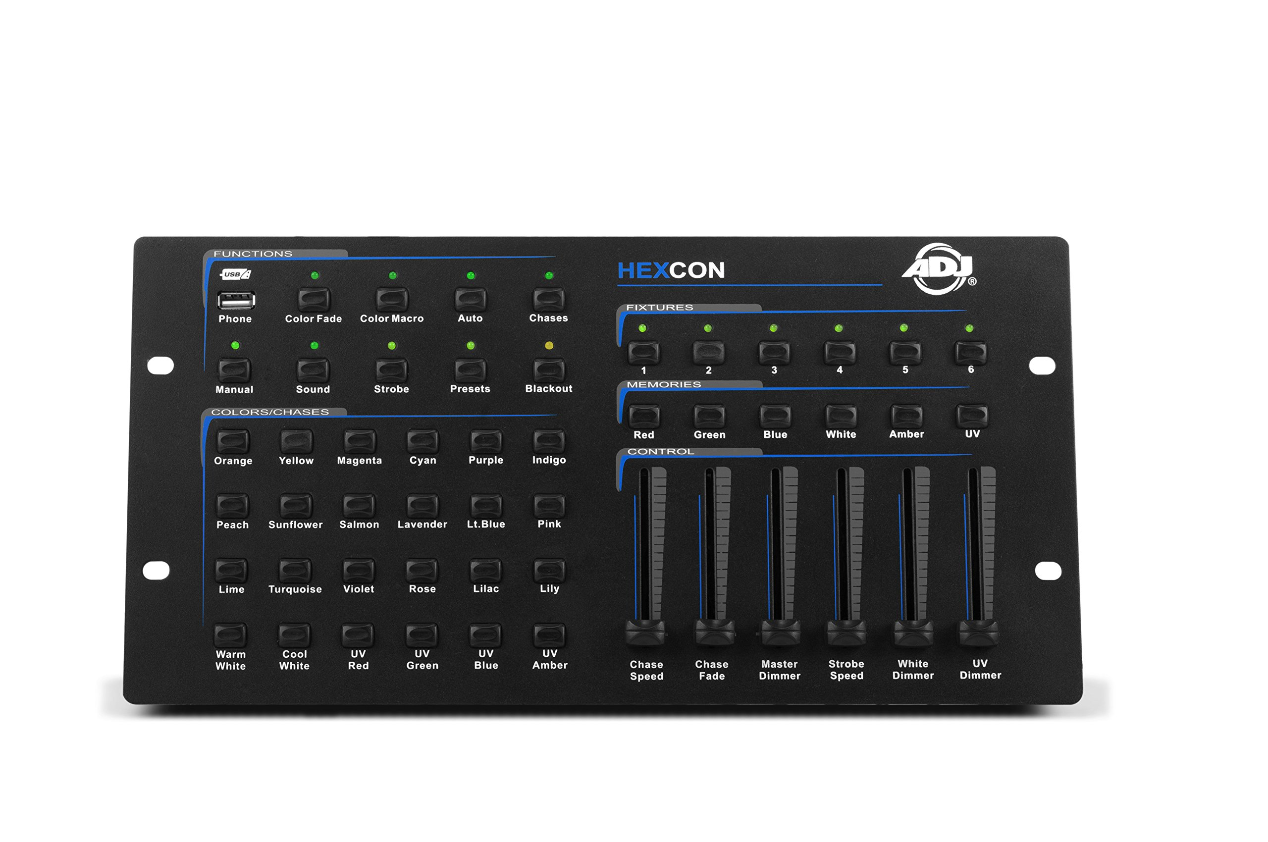 ADJ Products HEXCON HEX SERIE DMX controller, , 6 CHNL by ADJ Products
