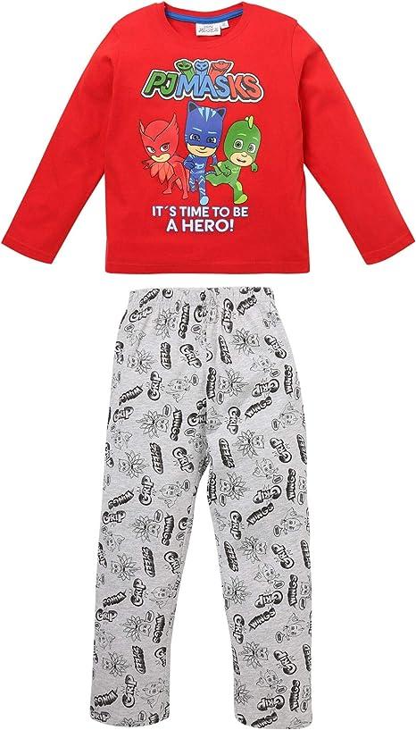 PJ MASKS 2 pezzi pigiamini da notte per bambini super eroe Pigiama a tutta lunghezza