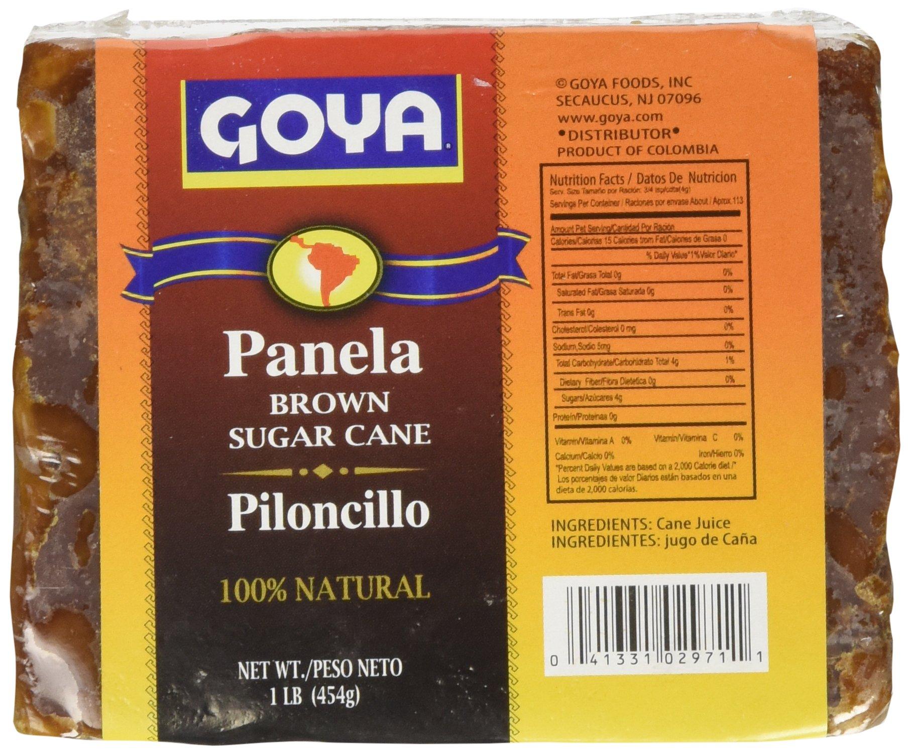 Goya Panela Brown Sugar Cane - Piloncillo