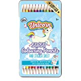 NPW NPW60157 Colouring Pencil Sticker - Assorted Colours (Pack of 24)