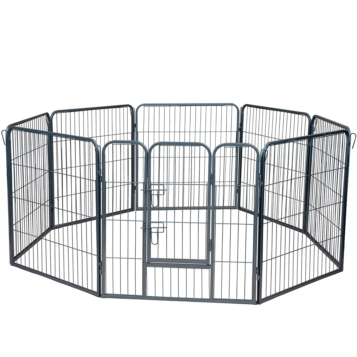 Paws and Pals Pet Exercise Pen Tube Gate