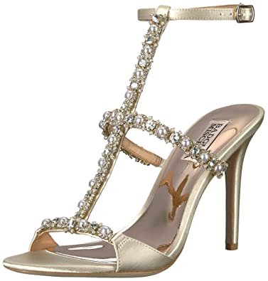 60c304f7d66 Amazon.com  Badgley Mischka Women s Yuliana Heeled Sandal  Shoes