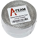 A-Team Performance Heat Shield Tape with PSA Ultra-Lightweight Self-Adhesive Heat Resistant Heat Reflective Thermal Tape…