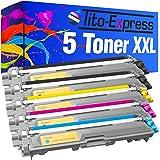 5x Tito-Express PlatinumSerie Toner-Patrone XXL kompatibel zu Brother TN-241 & TN-245