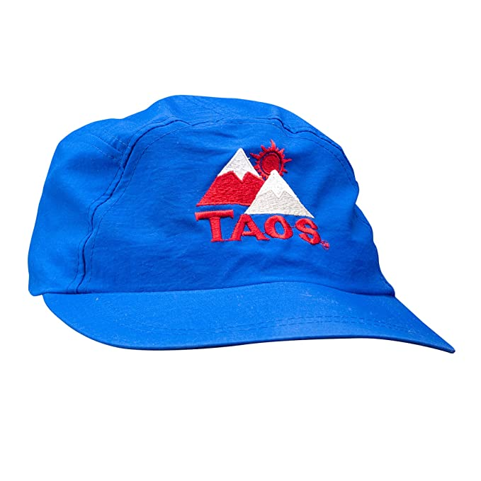 8715160fe30 Image Unavailable. Image not available for. Color  Taos 5-Panel Blue  Vintage Hat