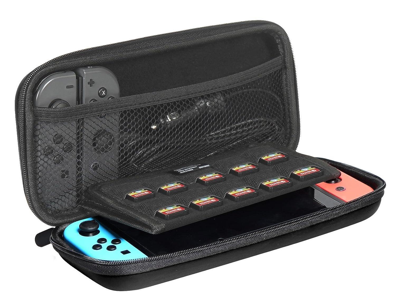 AmazonBasics - Funda de transporte para Nintendo Switch - Negro