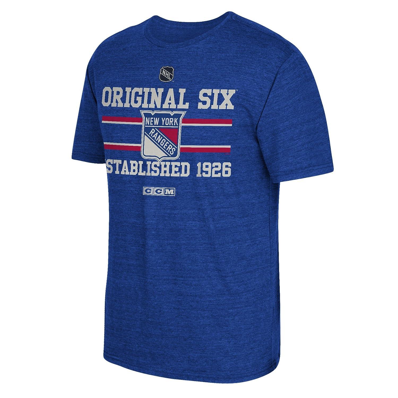 NHL Original 6S/Tri Blend Tee, herren, NHL Original 6 S/S Tri-blend Tee SLD Of The Adidas Group B214A 7LNU