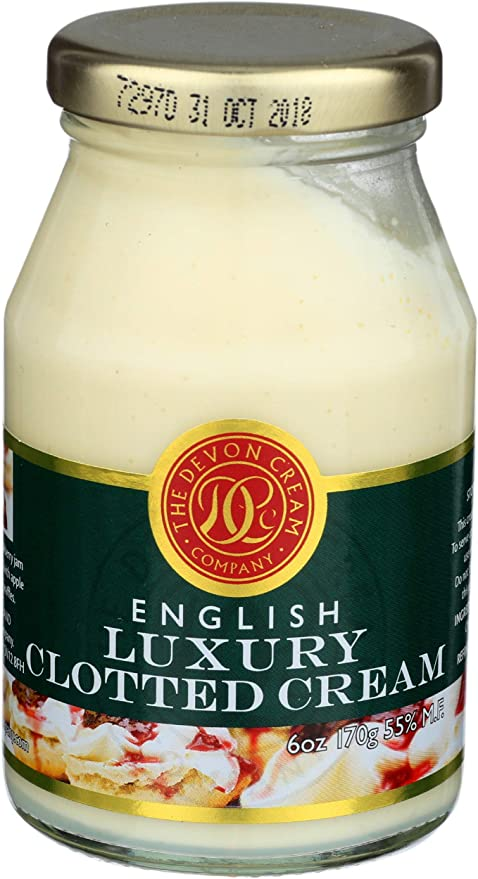 The Devon Cream Company Clotted Cream 6oz Amazon Com Grocery Gourmet Food
