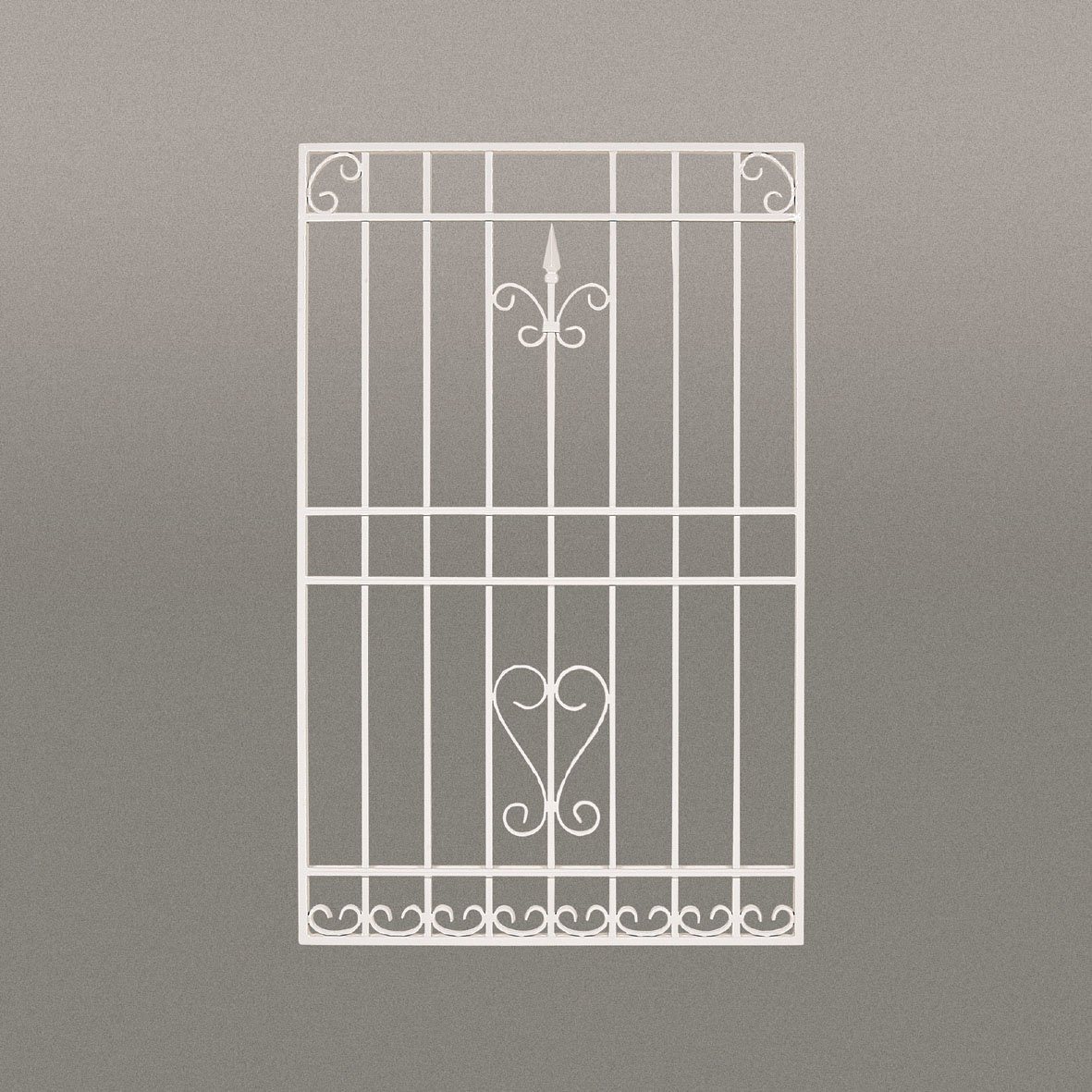 LLS ロートアルミ 装飾面格子 RAM02‐0611 650*1100 ホワイト B071VL1YCQ 26600  ホワイト