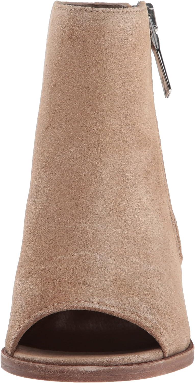 Frye Womens Brielle Zip Peep Bootie Boot