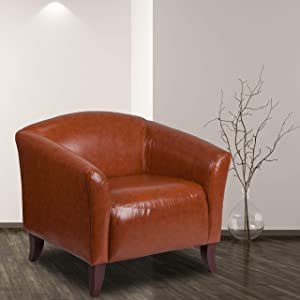 Flash Furniture HERCULES Imperial Series Cognac LeatherSoft Chair