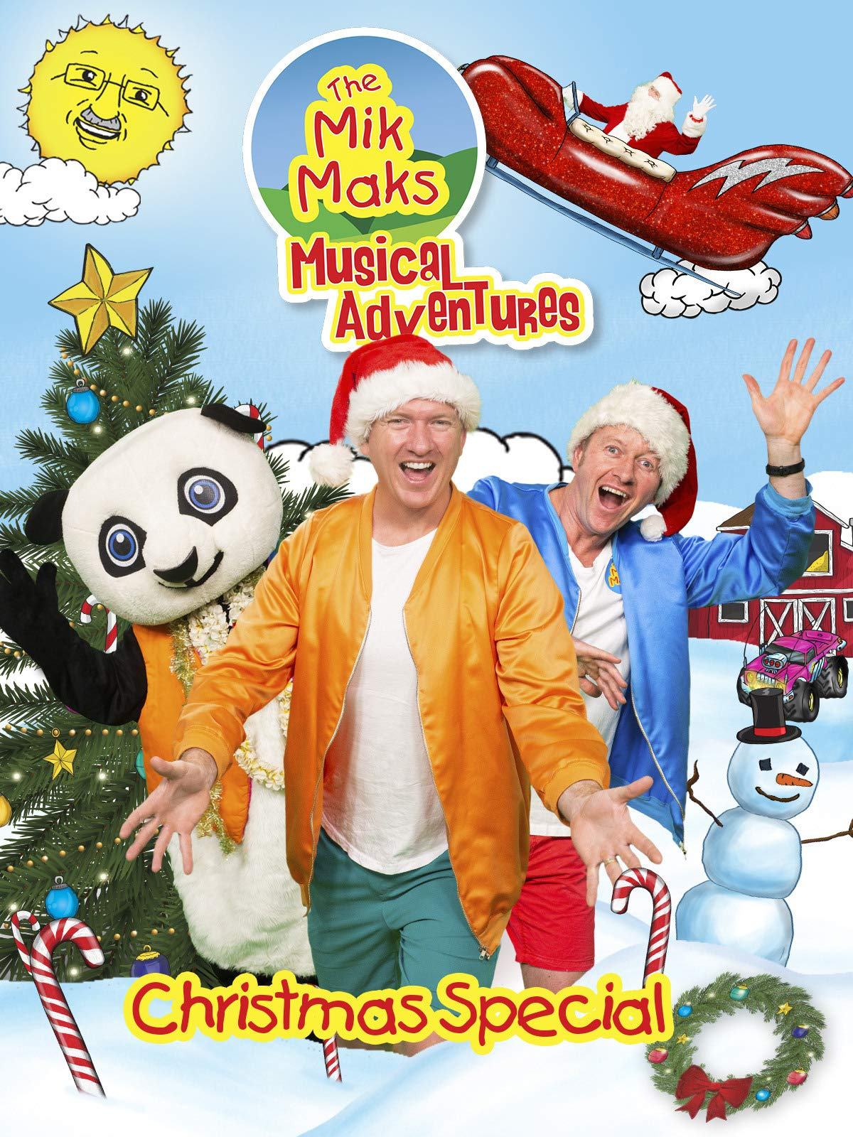 The Mik Maks Musical Adventures Christmas Special on Amazon Prime Video UK