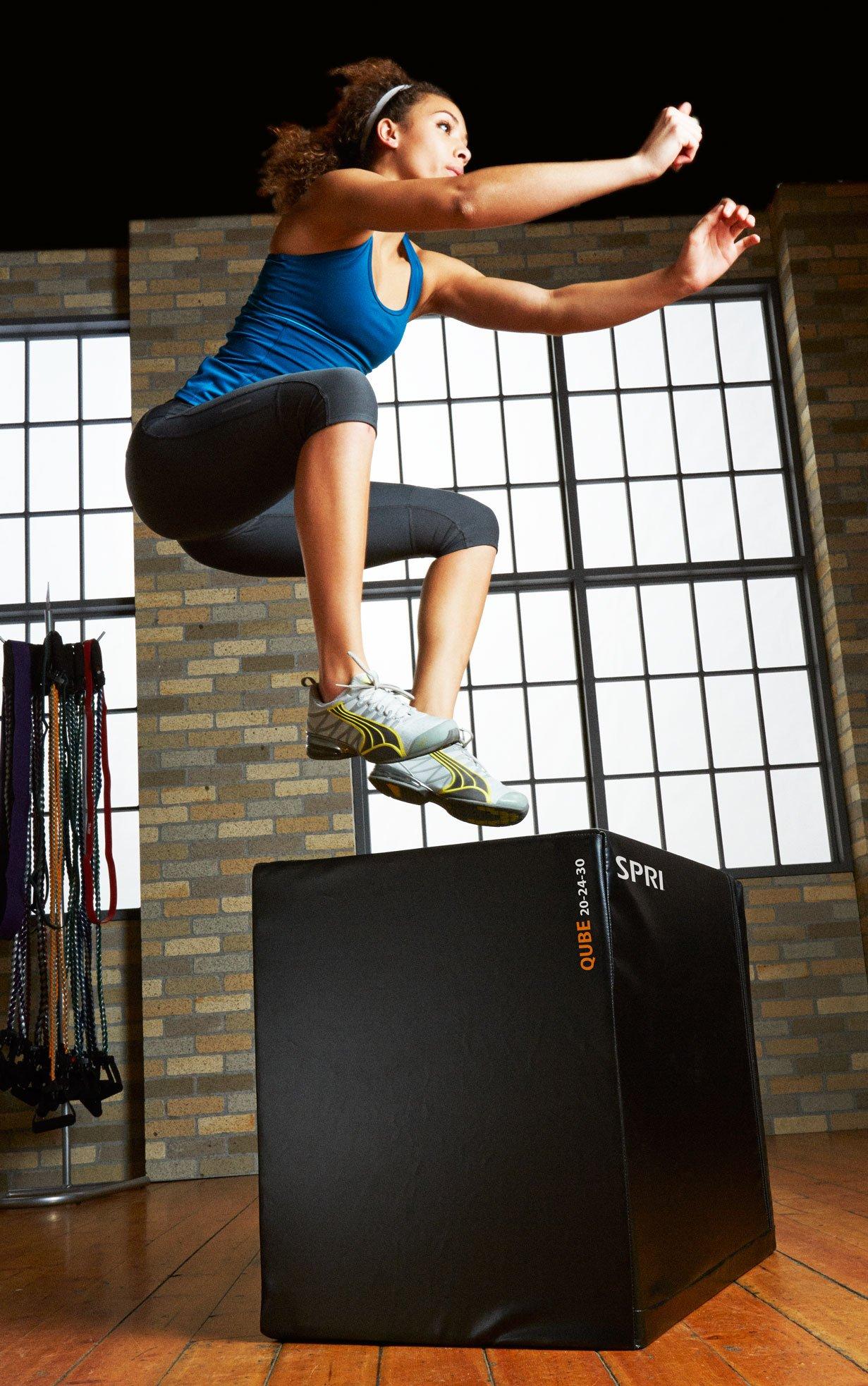 SPRI Qube Plyometric Jumping Box by SPRI (Image #2)