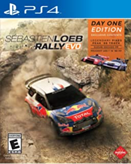 Square Enix Sébastien Loeb Rally EVO, PlayStation 4 - Juego (PlayStation 4, PlayStation 4, Racing, Milestone, January 29, 2016, E (para todos), En línea)