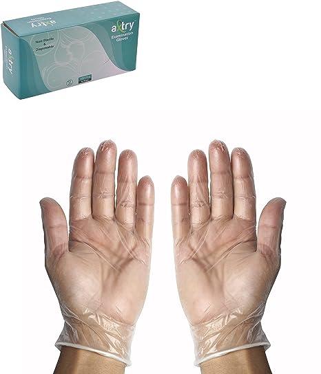 Axtry Disposable Vinyl Examination Hand Gloves Powder Free Best - Vinylboden für industrie