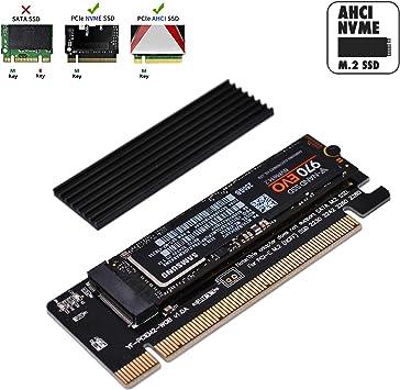 EZDIY-FAB Adaptador NVME PCIe, M.2 Adaptador NVME SSD a PCI ...