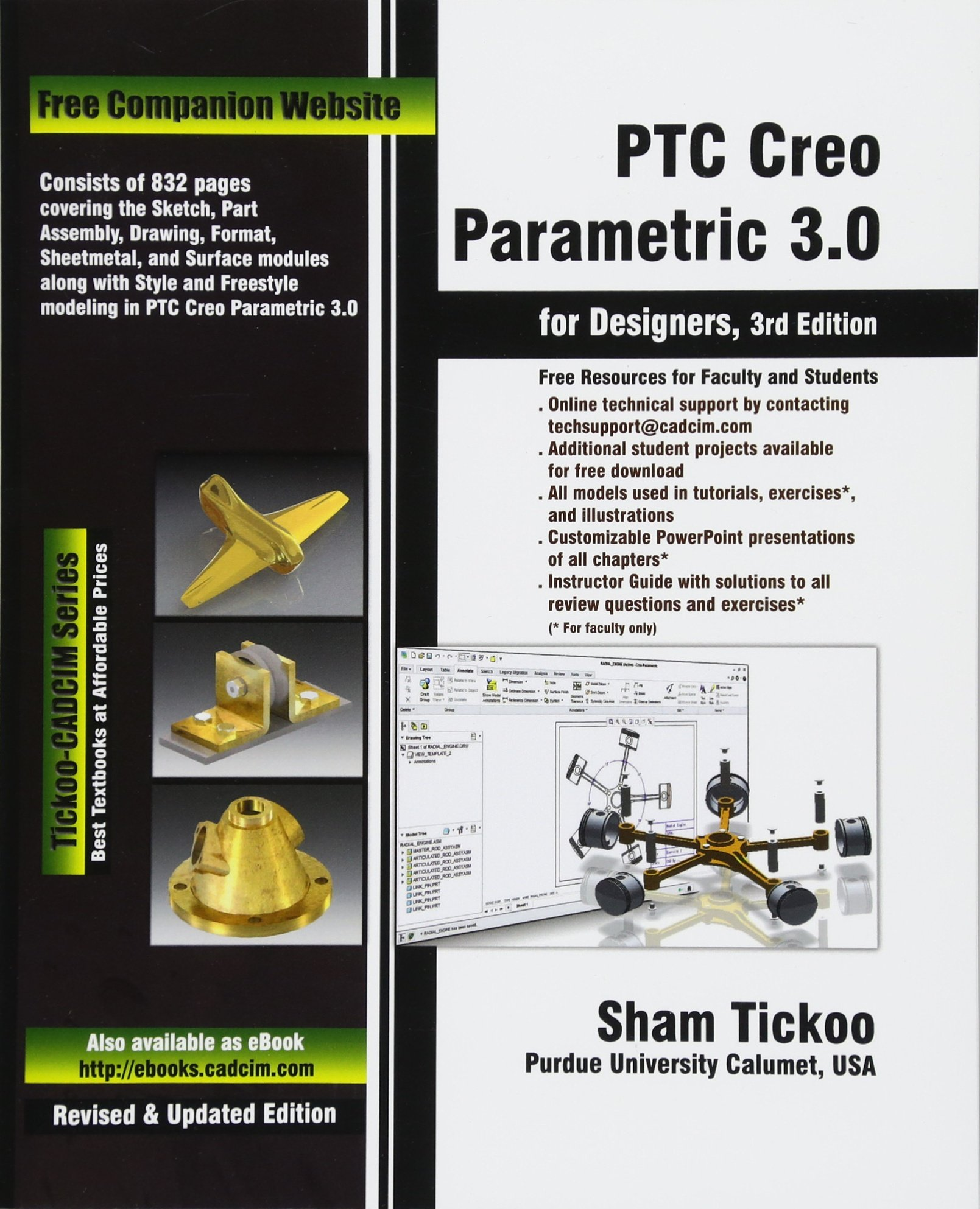 Ptc Creo Parametric 30 For Designers Prof Sham Tickoo Purdue Univ Now That You Are All Set Let39s Get Back To The Diagram And Cadcim Technologies 9781936646920 Books
