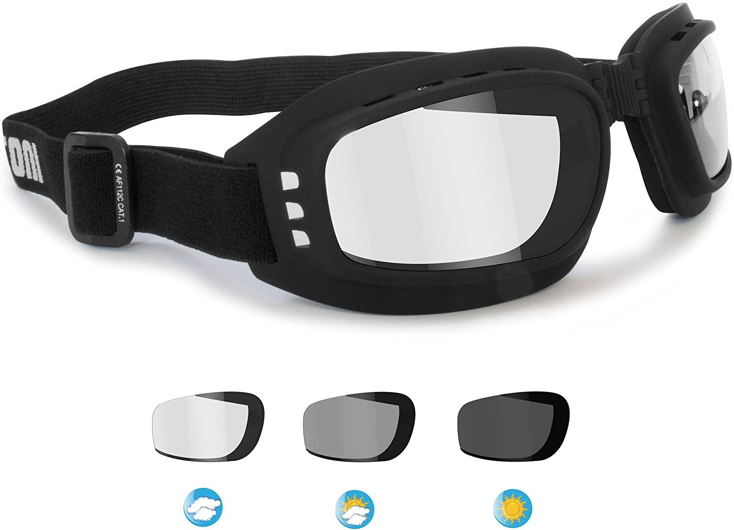 MOTORCYCLE GOGGLES SPORTS Basketball Football BIKE BIKERS CYCLE Accessories New