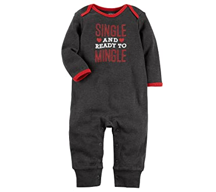 58a0806c6694 Amazon.com  Carter s Valentine s Day Jumpsuit  Clothing