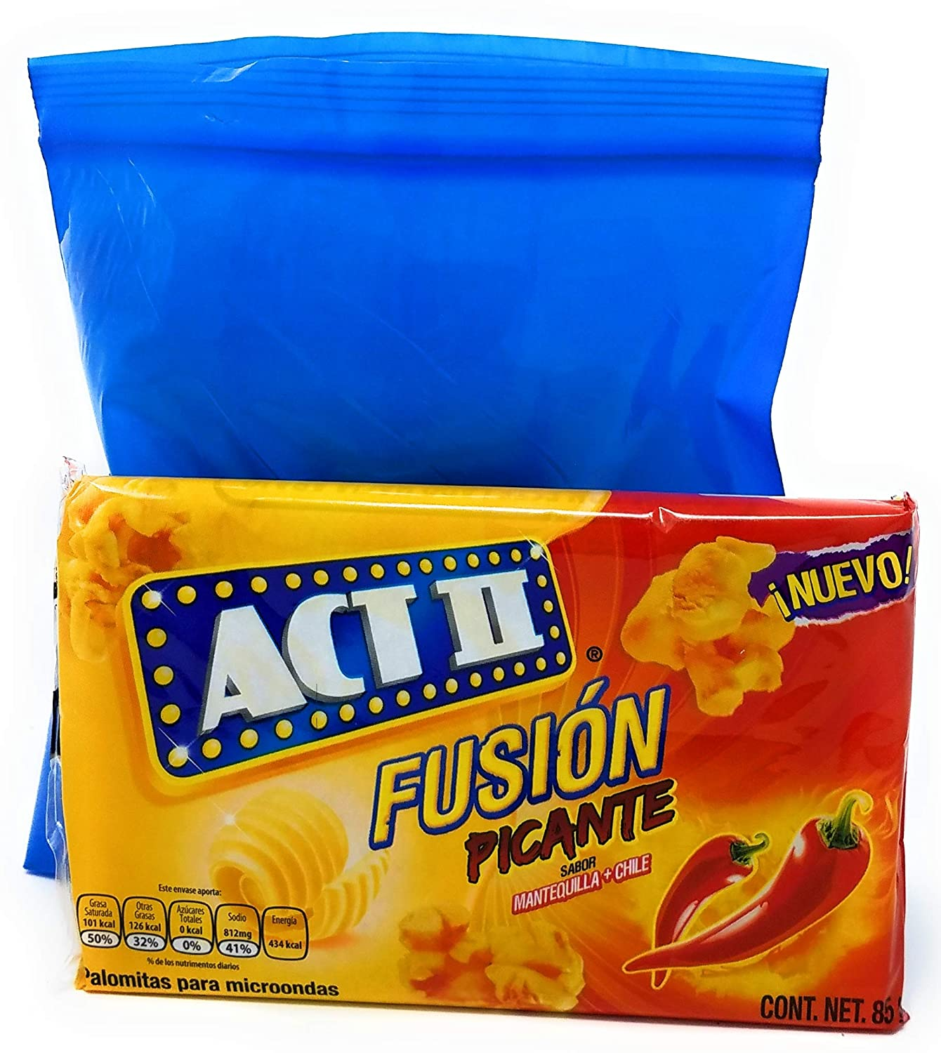 Amazon.com: Act II Fusion Picante (Butter & Chile) Microwave ...