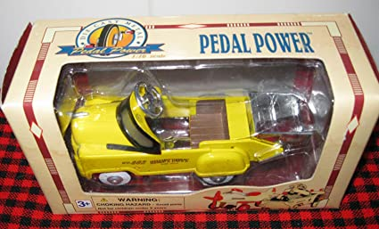 Pedal Power Die Cast 1//10 scale model of Pedal Car Golden Wheel/'