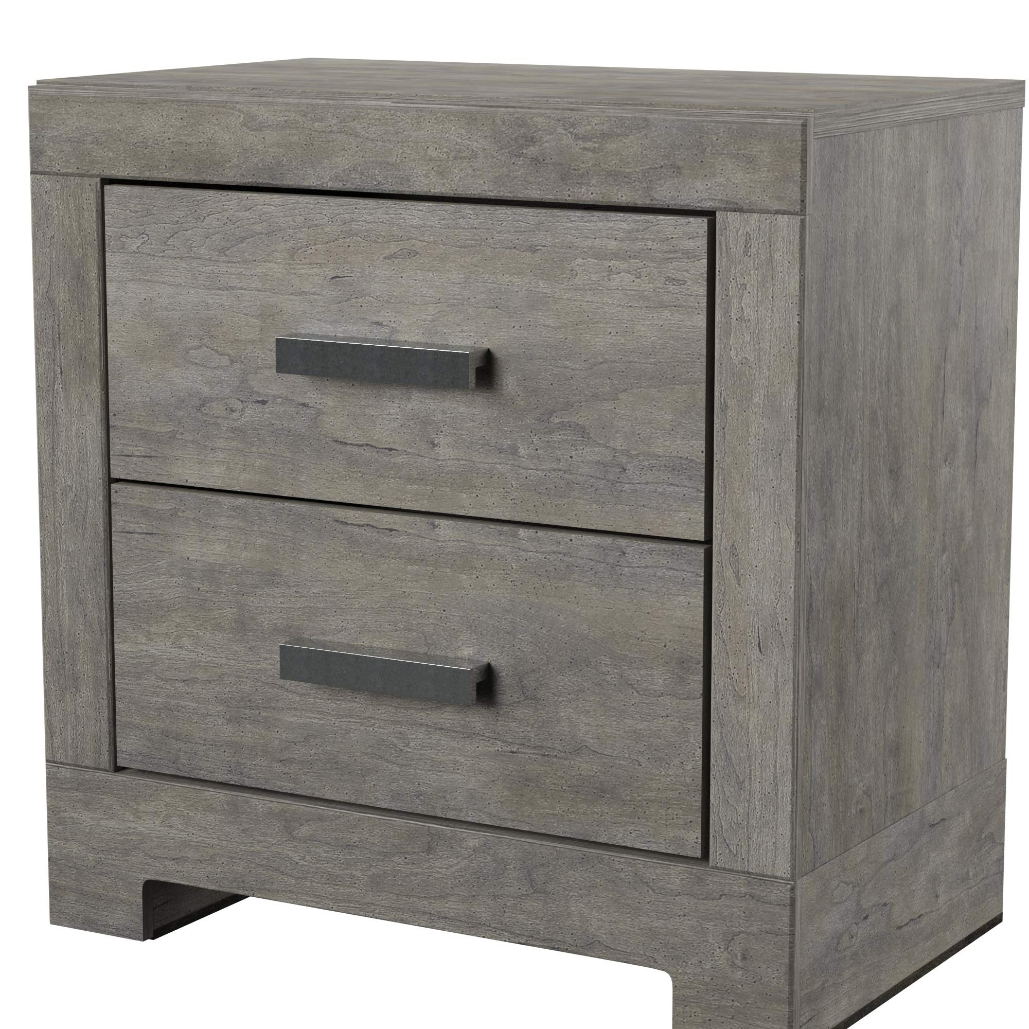 Ashley Furniture Signature Design - Culverbach Nightstand - Contemporary Style - Gray by Signature Design by Ashley