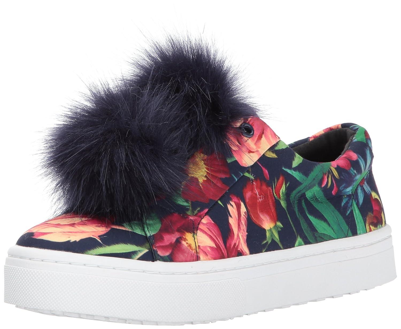 Sam Edelman Women's Leya Fashion Sneaker B01N5F2KM0 10 B(M) US Navy Multi Bouquet Print