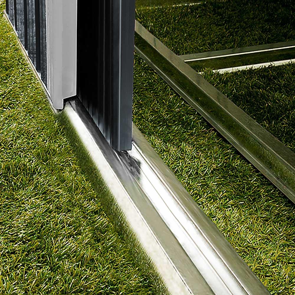 Abri de jardin en métal 5 m² - Cabane / Remise de jardin - Rangement ...