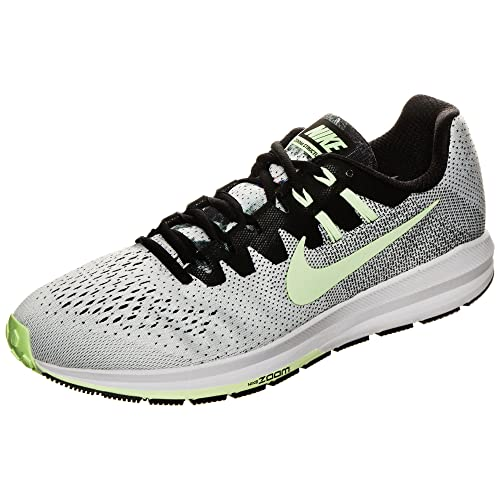 llevar a cabo granizo depositar  Buy Nike Men's Air Zoom Structure 20 Solstice Style 883276 001 7 M US  Black/Barely Volt-Legion Green at Amazon.in
