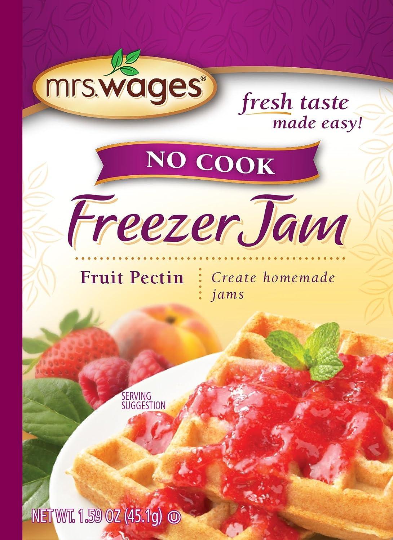 Mrs. Wages No Cook Freezer Jam Fruit Pectin (VALUE PACK of 12)