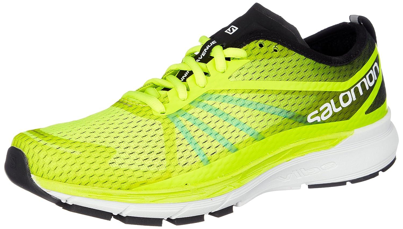 Salomon Sonic Ra Pro, Zapatillas de Trail Running para Hombre 46 EU Amarillo (Safety Yellow / Black / Bluebird 000)